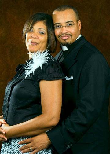 First lady and Pastor Green